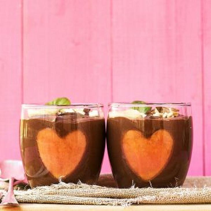 Almond Milk & Chocolate Vegan Mousse 2 Ways Recipe