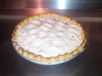 Banana Cream Pie from scratch