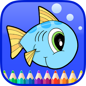 Ocean Animals Coloring Book for PC and MAC