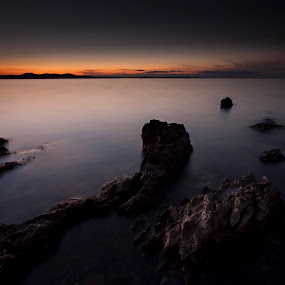 Looking Westbound by Kristijan Matulić - Landscapes Waterscapes