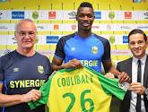 Nantes en veut à Gand de lui avoir vendu l'ancien attaquant de Charleroi, Coulibaly
