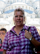 Photo: Day 110 - Dee Outside the Blue Mosque
