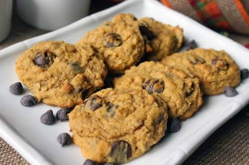 "Click Here for Recipe: Pumpkin Oatmeal Chocolate Chip Cookies ""Such a moist,..."