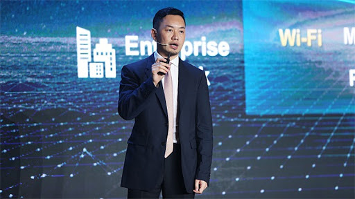 Qui Heng, president of global marketing for Huawei's Enterprise Business Group.