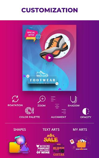 Flyer Maker, Poster Maker With Video 19.0 screenshots 20