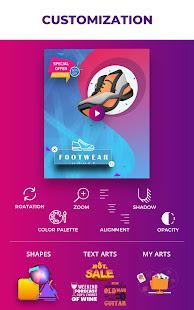 Flyer Maker, Poster Maker, Promo Video Marketing