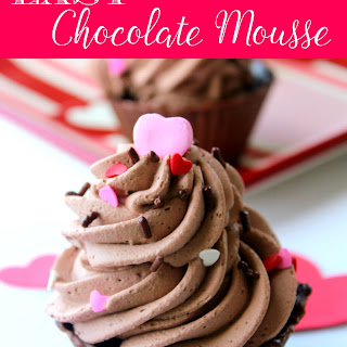 Easy Chocolate Mousse in Homemade Chocolate Bowls
