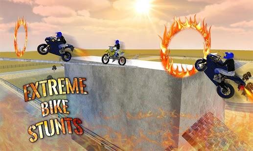 Crazy Bike Rider Stunt Race 3D - náhled
