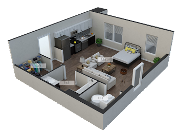 Go to The Furnished Star Floorplan page.