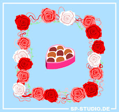 Photo: Yesterday I included a www.sp-studio.de Valentine's Day update. A border of roses and a box of finest pralinés. No matter if you love or hate this day, I hope you enjoy it :).