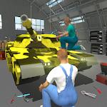 US Army Tank Mechanic Garage Icon