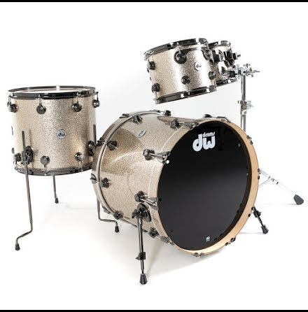 DW Collector's Maple - Nickel Sparkle Glass