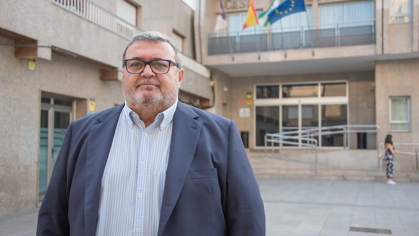 El portavoz del Partido Socialista de Roquetas de Mar.