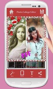 Photo Collage Memories Frame screenshot