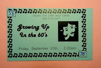 Photo: Ticket to Growing Up in the 60's