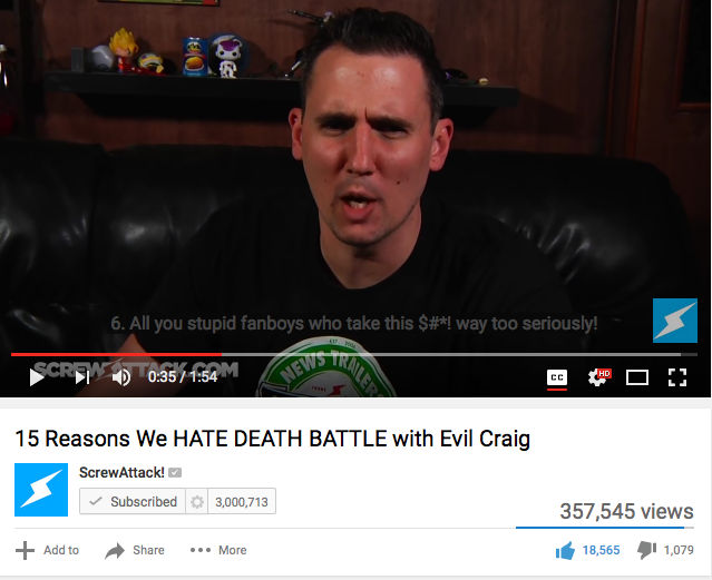 Evil Craig = My hero