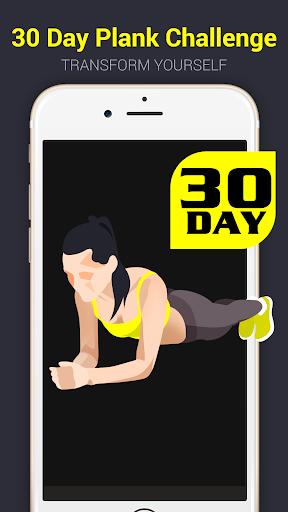 30 day plank challenge free screenshot 1
