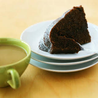 Chocolate-Earl Grey Cake.
