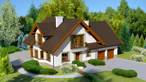 projekt Dom przy Cyprysowej 15 K