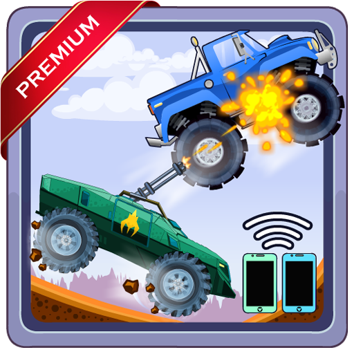 Two players game - Crazy racing via wifi (Premium)