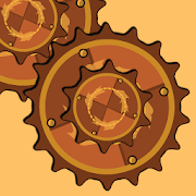 Steampunk Idle Spinner: cogwheels and machines (Unreleased)