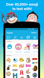 Amojee- emoji chat & messenger- screenshot thumbnail