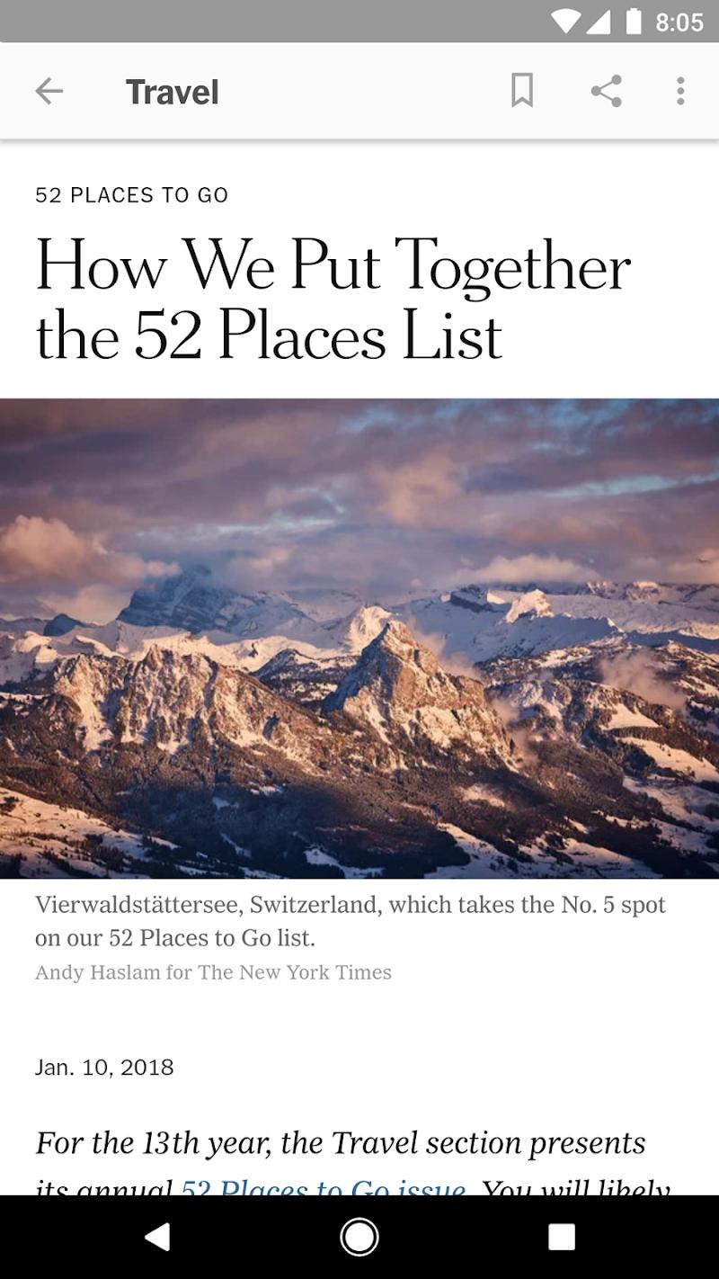 NYTimes - Latest News Screenshot 6