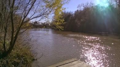 Photo: Guadalupe River near Mission Espiritu Santo site, Victoria 1/19/15