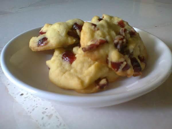 Lemon Cranberry Cookies Recipe