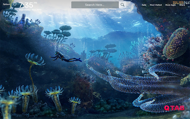 Subnautica Wallpapers HD Theme