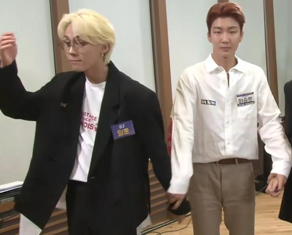 BTOB Ilhoon and WINNER Seunghoon