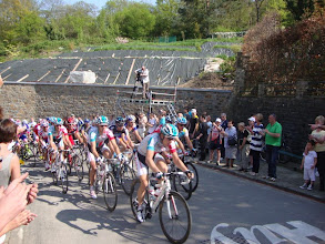 Photo: Fleche, The men, Winner Gilbert is 2nd Left