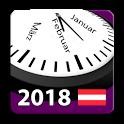 2018 Österreich Feiertage Kalender AdFree + Widget icon