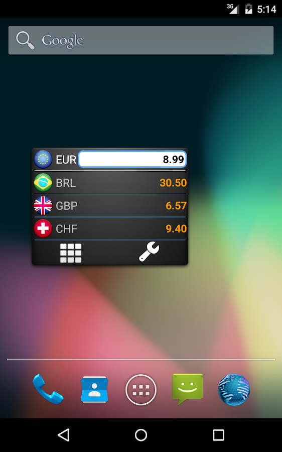 My Currency Converter - screenshot