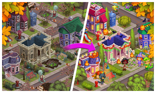 Monster Farm: Happy Ghost Village & Witch Mansion screenshots 3
