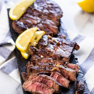 Lemon Garlic Steak (Chuck Blade) Recipe