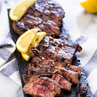 Lemon Garlic Steak (Chuck Blade).