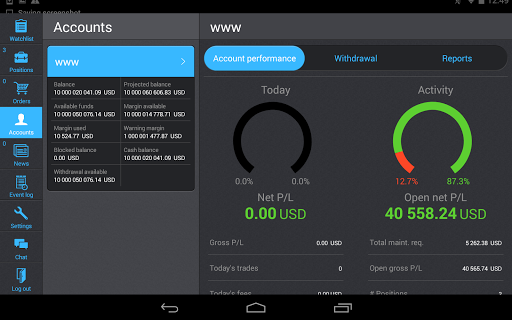 PANEX Protrader screenshot 7
