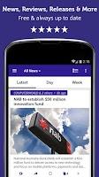 Screenshot of Australian Tech - Newsfusion