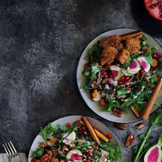 Grain-free Fried Chicken Salad.