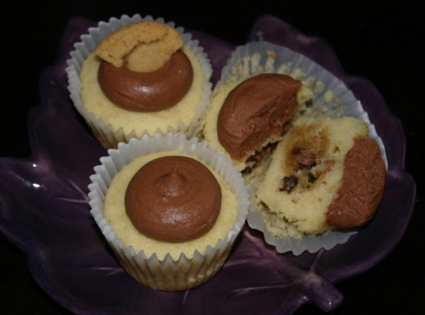 Chocolate Chip Cookie Dough Cupcakes Recipe