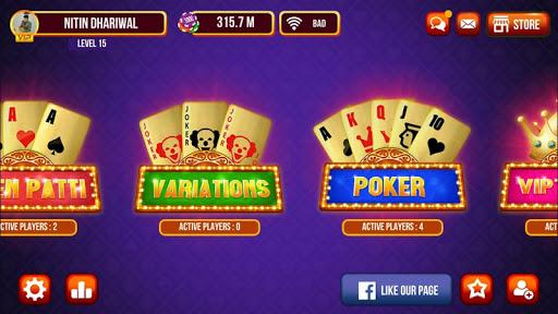 Triple One Teen Patti (3 Patti, Poker & Slot)  screenshots 1