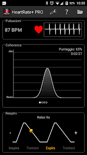 HeartRate+ Coherence PRO- screenshot thumbnail