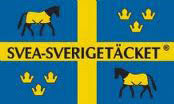 Fleecetäcke med hals Islandshäst