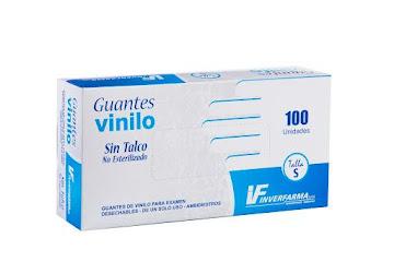 GUANTE EXAMEN VINILO
