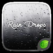 Rain Drops GO Keyboard  Theme