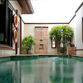 Silky Wet by Adi Suda - Buildings & Architecture Other Interior ( portdickson, silkywater, pool, indoorpool, malaysia )