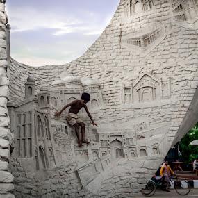 by মেহরাব সাদাত - City,  Street & Park  Fountains (  )