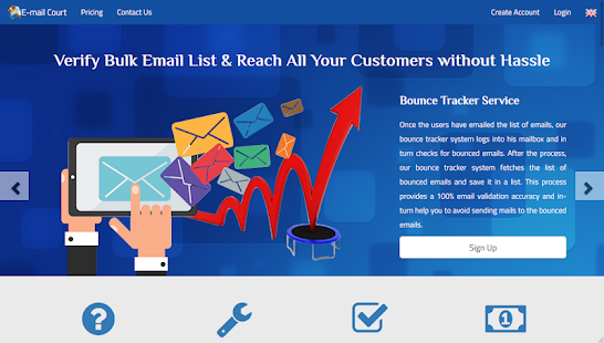 E-Mail Court – Validate Email Bulk Checker Tool for PC-Windows 7,8,10 and Mac apk screenshot 3