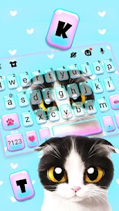 Sad Kitten Keyboard Theme 1.0 APK Mod Latest Version 2